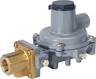 "Emerson-Fisher LP-Gas Equipment R232A-HBF Compact Integral 2-Stage Regulator, 9.5-13"" W.C Spring, POL x 1/2"" NPT"