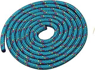 Vinex Touwspringen - springtouw 3 meter - mooi patroon - groen