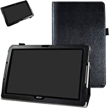 """Acer Iconia One 10 B3-A30 Case,Mama Mouth PU Leather Folio 2-Folding Stand Cover with Stylus Holder for 10.1"""" Acer Iconia ..."""
