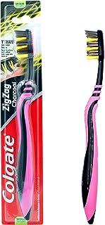 Colgate Zigzag Charcoal Toothbrush, Medium