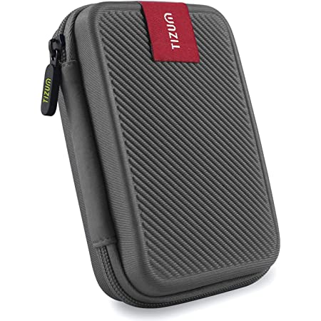 Tizum Double Padded TZ-HDD 2.5-inch External Hard Drive Case (Grey)