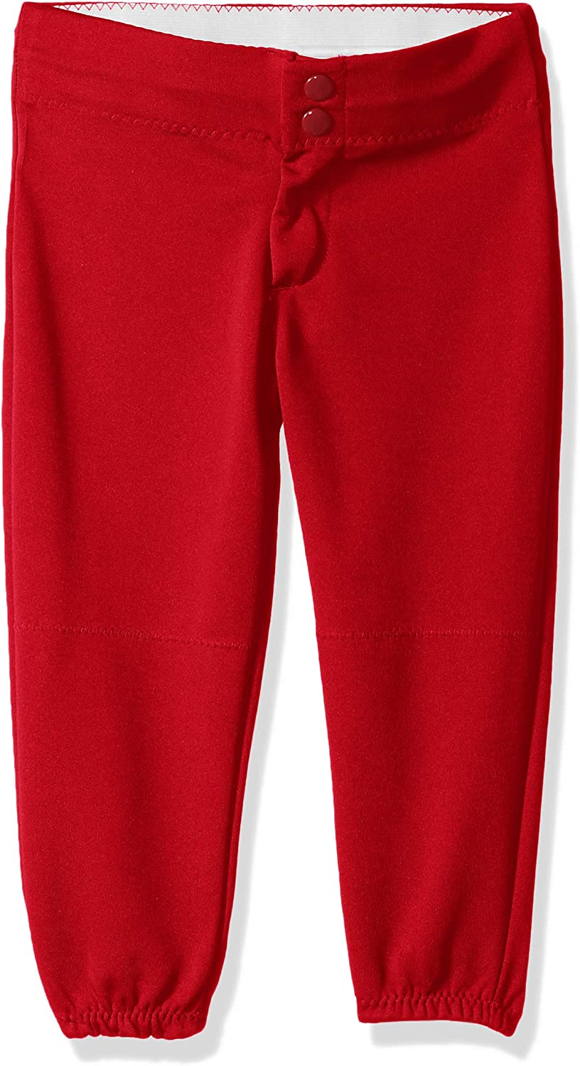 Alleson Athletic Baseball//softball Pants Red Sz Youth M