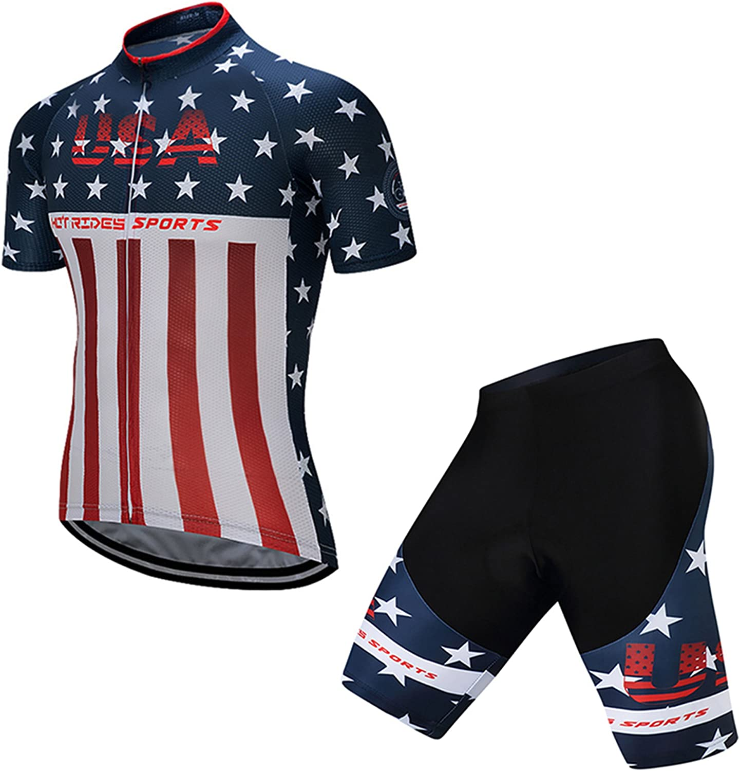 Hot Rides Men's Regular discount Clearance SALE! Limited time! Quick Dry Cycling Jersey Short Gel 3D Padded and