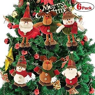 plush reindeer ornaments