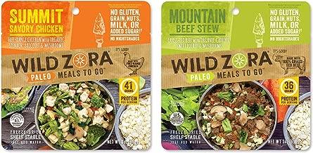 wild zora paleo meals to go