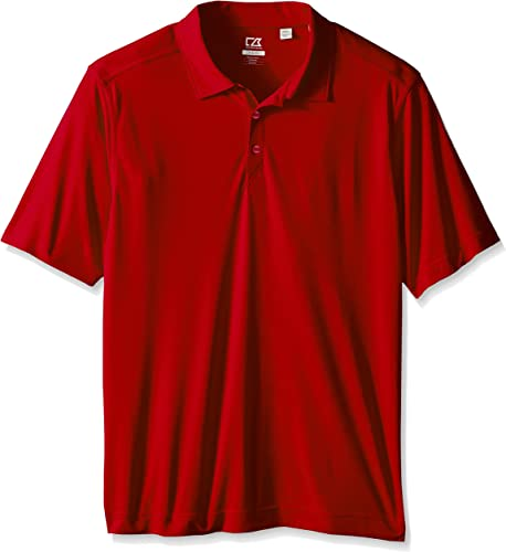 Cutter & Buck Hommes's Big-Tall Cb Drytec Northgate Polo Shirt, rouge, X-grand