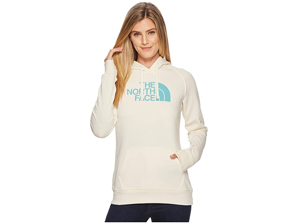 The North Face Half Dome Hoodie (Vintage White Heather/Bristol Blue) Women