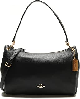 Coach F28966 MIA Shoulder Bag in Refined Pebble Leather