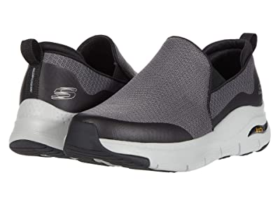SKECHERS Arch Fit Banlin (Charcoal/Black) Men