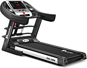 Powermax Fitness TDM-100M (4 HP Peak) Motorized Treadmill for Home Use - Free Installation Service - 3 Years Motor Warrant...