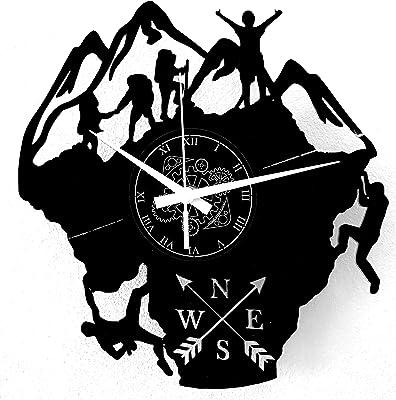 Instant Karma Clocks - Reloj de Pared con temática de montaña ...
