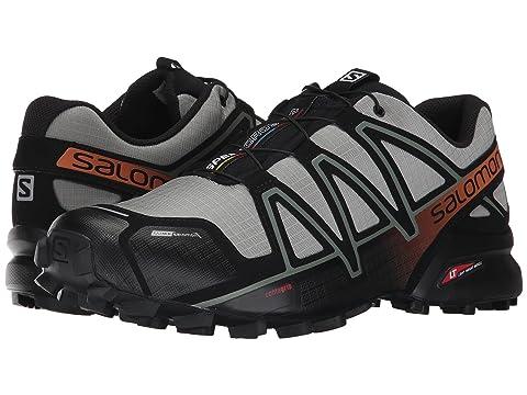 Salomon Shoes Speedcross 4 CS, SHADOW/BLACK/HAWAIIAN SUNSET