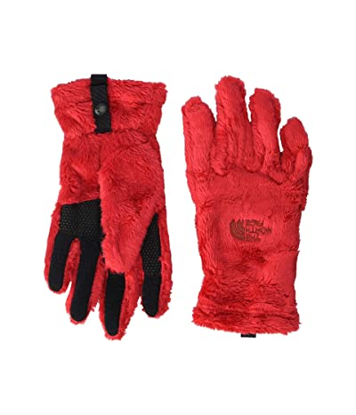The North Face Kids Osito Etip Gloves (Big Kids) (TNF Red) Extreme Cold Weather Gloves
