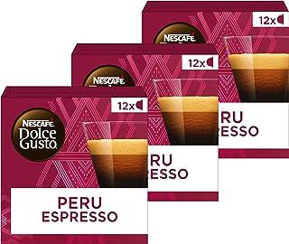 Nescafé Dolce Gusto capsules Absolute Origin Peru Espresso- 36 koffiecups - geschikt voor 36 koppen koffie - Dolce Gusto cups