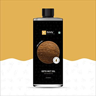 Ketofy - Keto MCT Oil (500ml) | 100% Pure Unsweetened