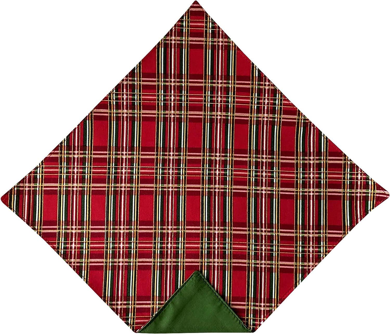 Holiday Bow Ties Mens Holiday Handkerchief Plaid Gold Metallic Pocket Square