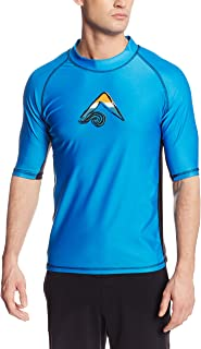 Kanu Surf Men's Mercury UPF 50+ Short Sleeve Sun...