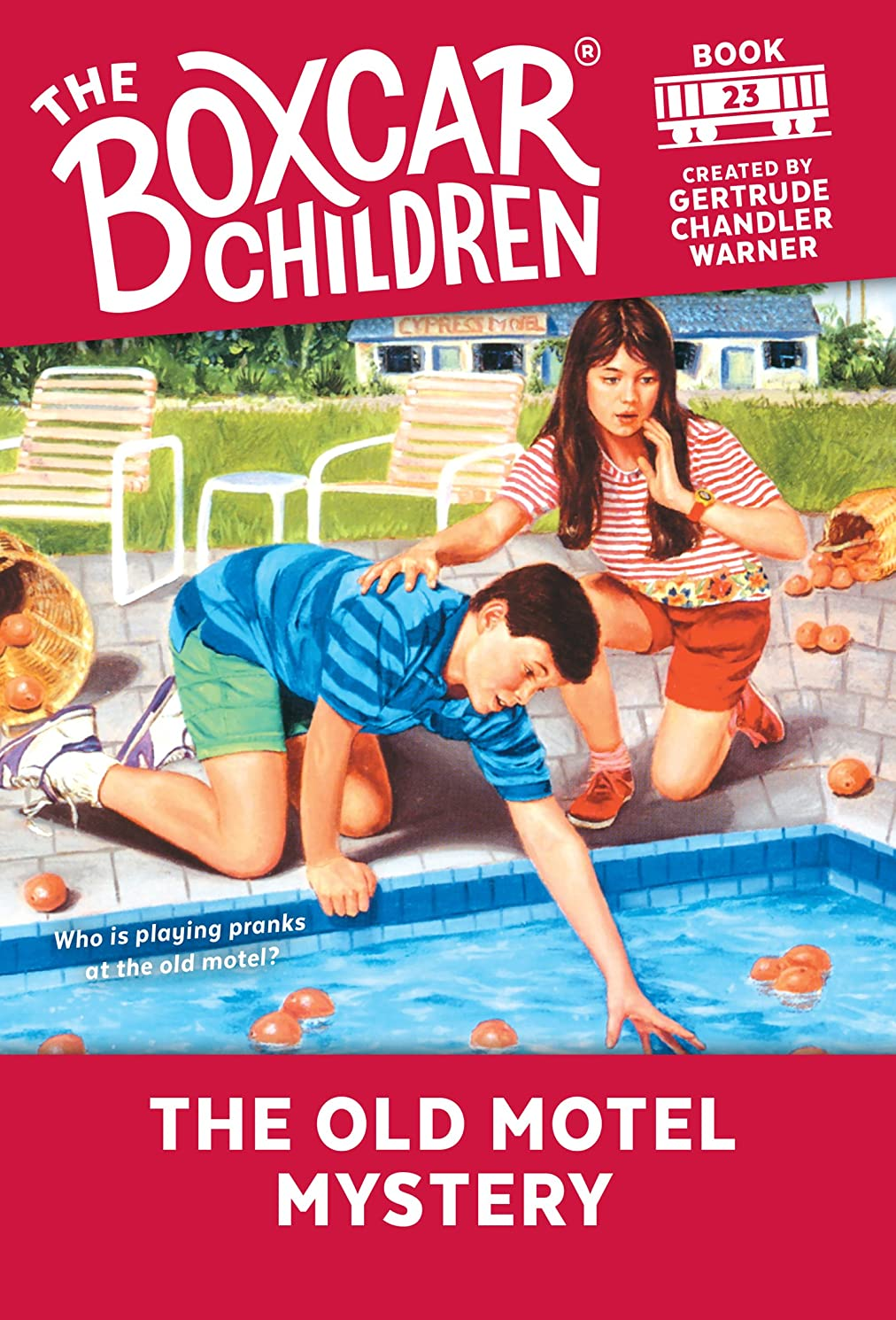 破壊的ラブ挨拶The Old Motel Mystery (The Boxcar Children Mysteries Book 23) (English Edition)
