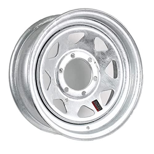 "OEM Chrome Mastercraft 15/"" Aluminum Trailer Wheel 6H"