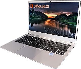 wajun ノートPC Pro-8未使用品/MS Office 2019/win 10/Webカメラ/MicroHDMI/Bluetooth/WIFI/Celeron N3450/8GB/180GB SSD (整備済み品)