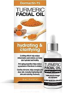 Dermactin-TS Turmeric Hydrating and Clarifying Facial Oil - Tumeric Face Oil 1 oz.