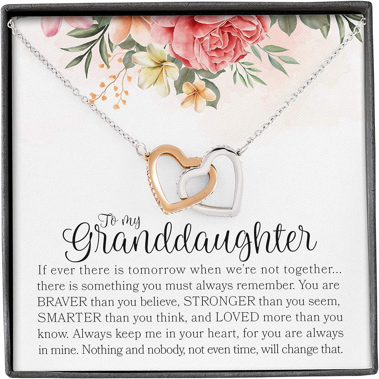 Forever Loved Granddaughter Gifts From Grandma Grandpa Interlock