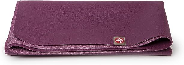 Manduka eKO Superlite Yoga Travel Mat – 1.5mm Thick Travel Mat for Portability, Eco Friendly and Made from Natural Tree Ru...