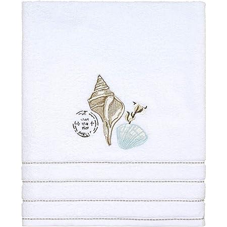Nickle One Size Avanti Linens Deco Shell Fingertip Towel