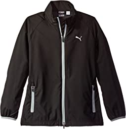 PUMA Golf Kids Full Zip Wind Jacket JR (Big Kids)