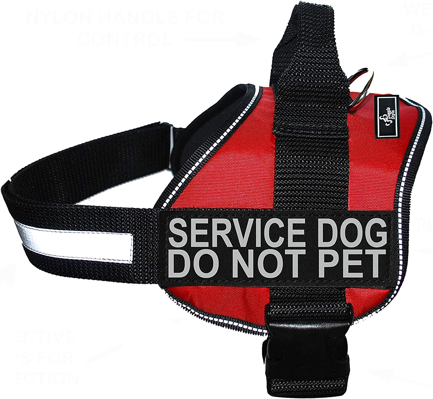 Doggie Stylz Service Dog Harness Vest 2 Price reduction Comes Reflective Se Ranking TOP1 with