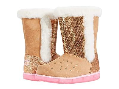 SKECHERS KIDS Glitzy Glam 314857N (Toddler) (Chestnut) Girls Shoes