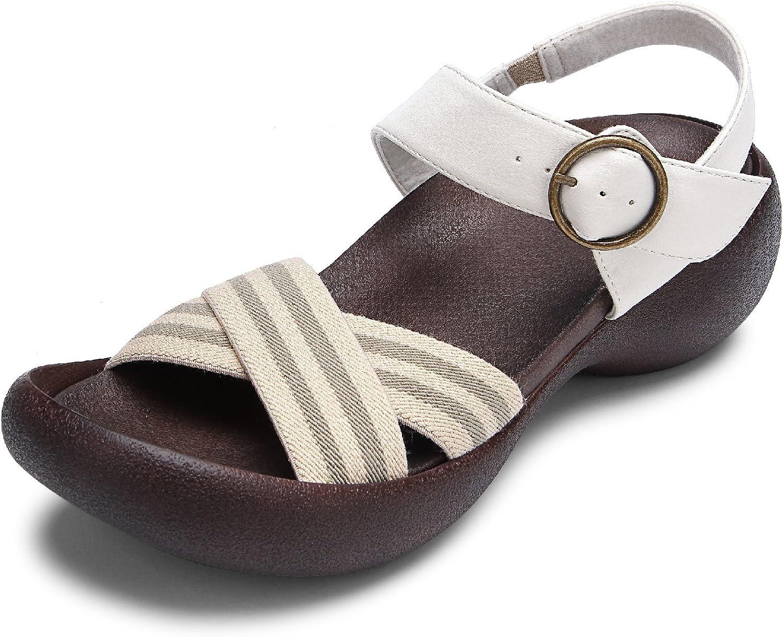 Sandals for Women - Handcrafted, Vegan & Comfortable Slides  Eggheel Gerbera by RegettaCanoe