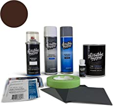 ScratchesHappen Exact-Match Touch Up Paint Kit Compatible with Peugeot Brun Calern (KCQ/G9) - Aerosol, Complete