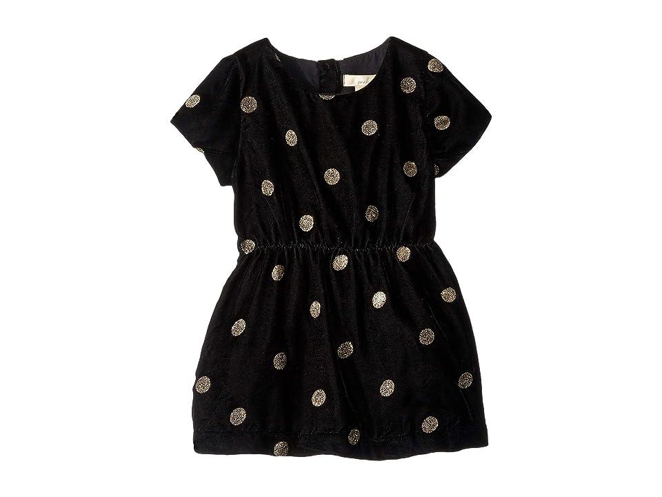 PEEK Anya Dress (Infant) (Black) Girl