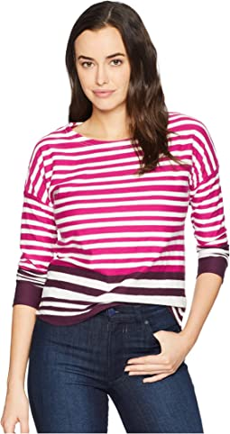 Deep Fuchsia Stripe