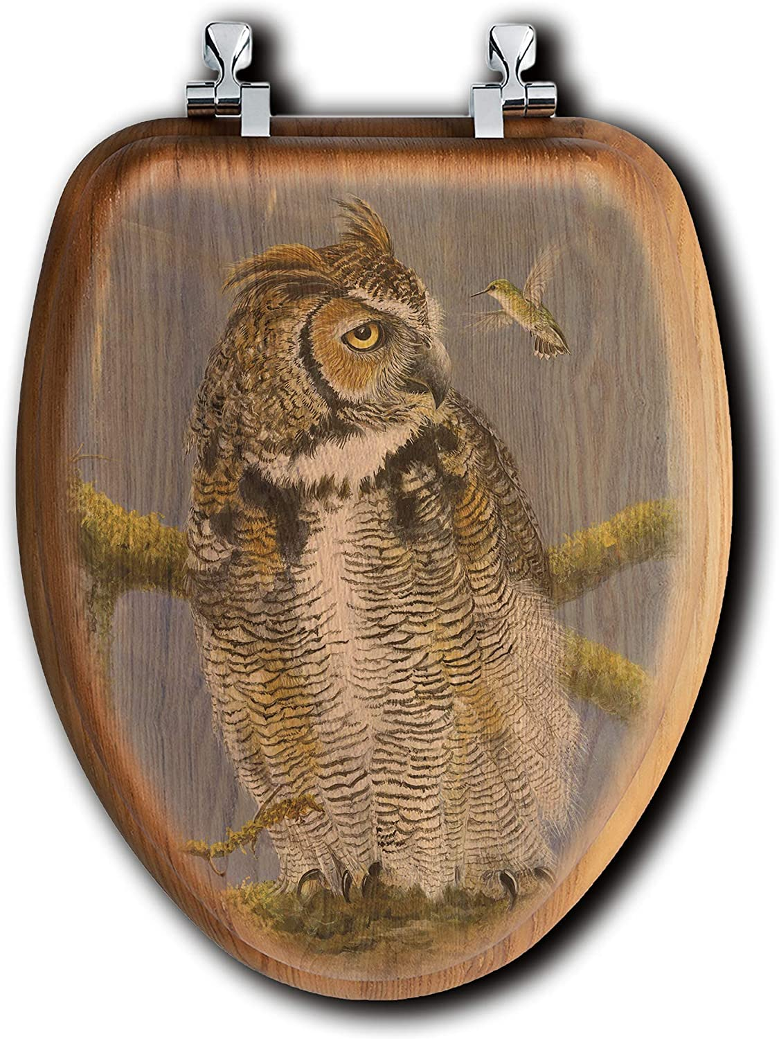 WGI-GALLERY TS-E-FOH Fearless Owl Hummingbird Seat Max 89% OFF Toilet Clearance SALE! Limited time!