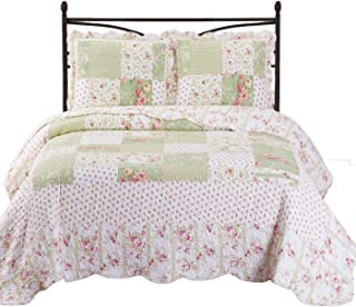 Upland Full/Queen Size, Over-Sized Quilt 3pc set 92x96