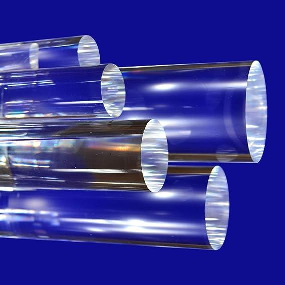 1m 1000mm Durchmesser: 12mm Acrylglas XT Rundstab Rundstange farblos glasklar L/änge
