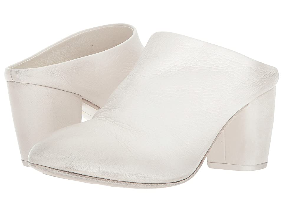 Marsell Heeled Slide (White) High Heels