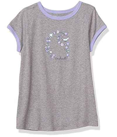 Carhartt Short Sleeve Ringer Tee T-shirt (Floral C