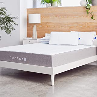 Nectar California King Mattress + 2 Pillows Included - Gel Memory Foam - CertiPUR-US Certified Foams - 180 Night Home Trial - Forever Warranty