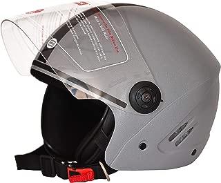 Dass Getz Grey (ISI) Open Face Helmet (Grey)