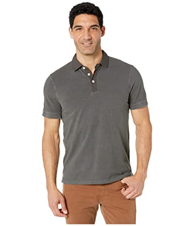 True Grit Soft Baby Pique Short Sleeve Polo (Carbon) Men