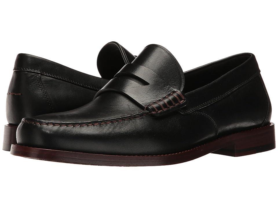 COACH Manhattan Leather Loafer (Black) Men