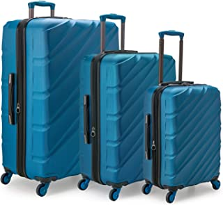 Travelers Choice Gilmore 3-Piece Expandable Hardside Luggage Set with Push-Button Handle