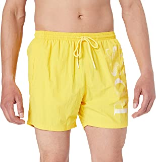 BOSS Mens Octopus Quick-Drying Swim Shorts with Contrast Logo