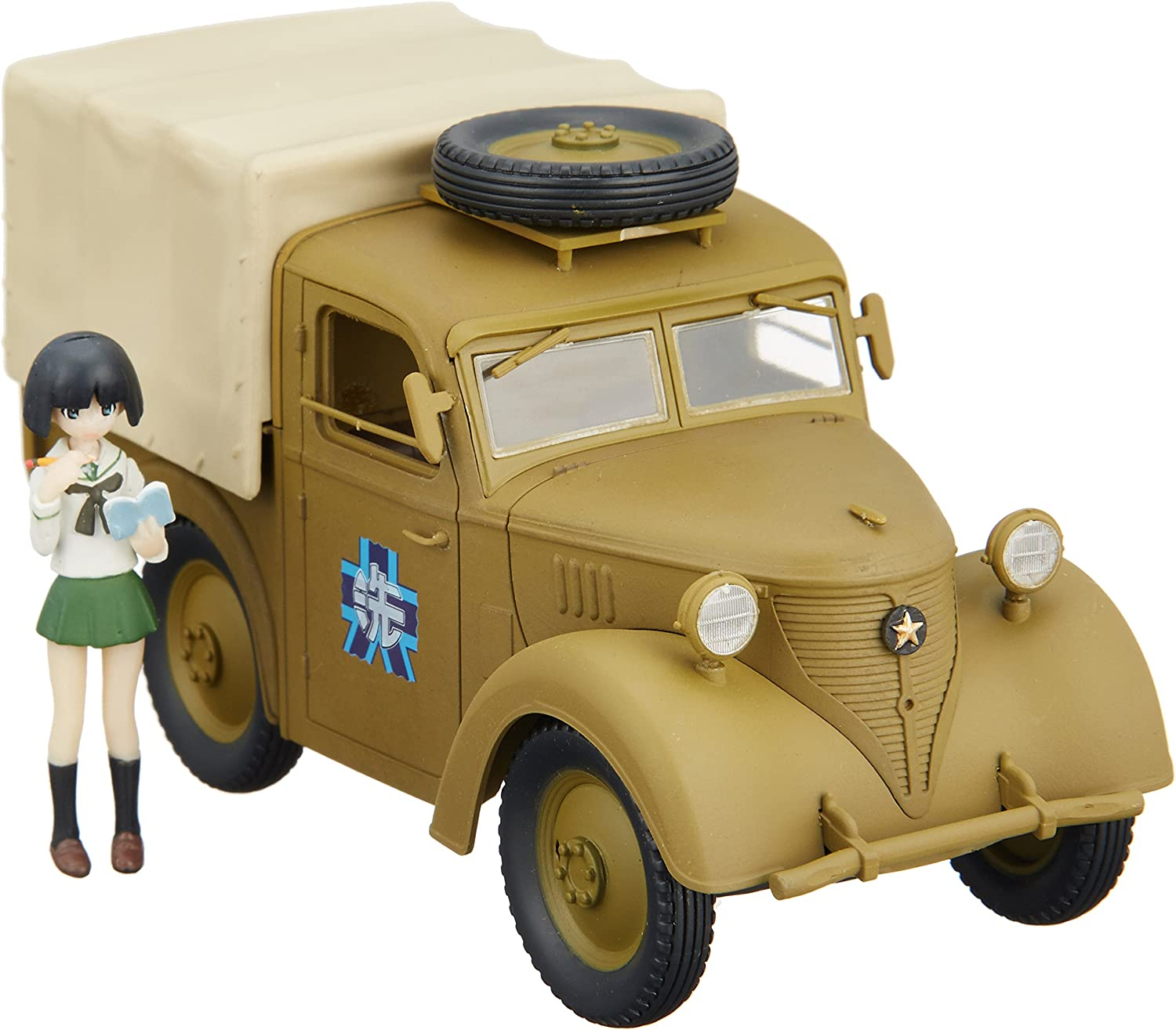 Ninetyfive expression small passenger cars & Garden Midoriko 1 35 Prefectural Oarai girls school public relations car (painted finished goods)
