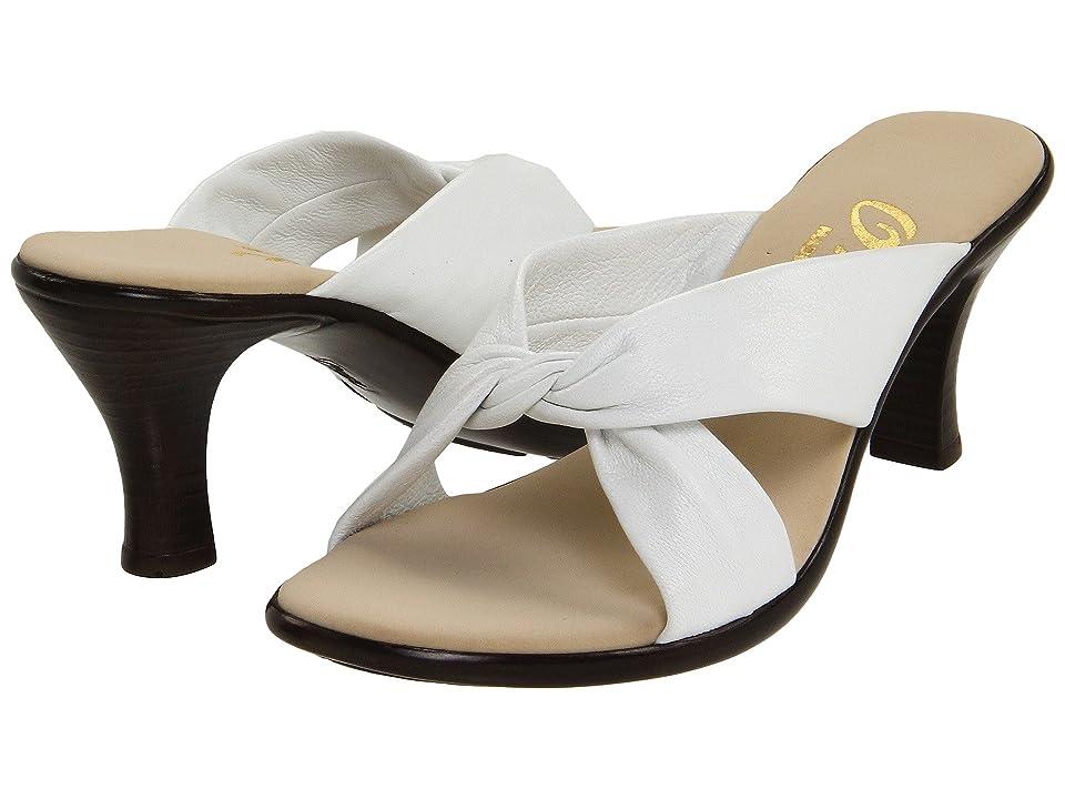 Onex Modest (White Leather) Women