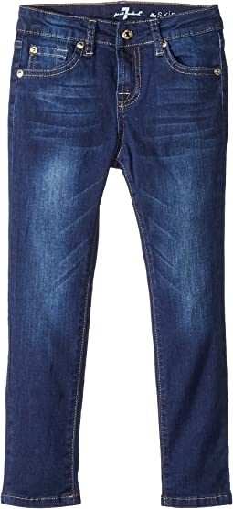 7 For All Mankind Kids - Slimmy Jeans in Santiago Canyon (Little Kids)