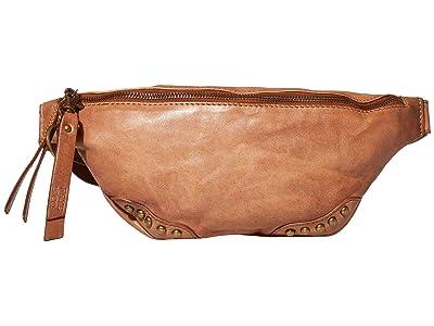 FRYE AND CO. Odessa Belt Bag (Cognac) Cross Body Handbags